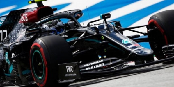 Bottas y su Mercedes, los dominadores absolutos del GP de Austria